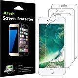 JETech, Pellicole Protettive Trasparente PET per iPhone 8, iPhone 7, Confezione da 3 pezzi
