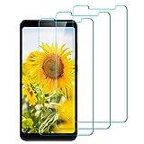 InteCasa [3 Pezzi] Vetro Temperato Xiaomi Redmi Note 5, Pellicola Protettiva Vetro Temperato Screen Protector per Xiaomi Redmi Note 5 - Trasparente