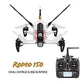 DRONE WALKERA RODEO 150 MINI FPV RACING DRONE - COMPLETO DI TELECOMANDO, BATTERIE, CARICABATTERIE, ELICHE