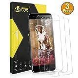 CRXOOX 3 Pack Vetro Temperato per Huawei Honor 9 Vetro Protezione Senza Bolle d'Dria Pellicola Vetro 9H AntiGraffio Pellicole Protettive Anti Urto Screen Protector per Huawei Honor 9 Trasparente
