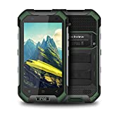 "Blackview BV6000S Outdoor 4G Smartphone IP68, Antipolvere, Antiurto, Batteria 4500mAh, Dual Sim, Display 4.7"", 2GB RAM + 16GB ROM, Fotocamera 8MP + 2MP, GPS, Wi-Fi - Verde"