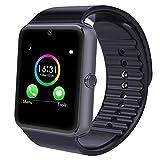 Smart Watch per Telefoni Android,YAMAY Wireless Smartwatch Telefono Touch Screen Orologio da Polso Fitness Watch Pedometro Notifiche Chiamate SMS Whatsapp Facebook Skyp