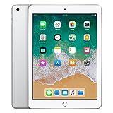 Apple iPad 128GB Silver tablet - Tablets (24.6 cm (9.7'), 2048 x 1536 pixels, 128 GB, iOS 11, 469 g, Silver)