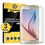 NEARPOW [3 Pack] Samsung Galaxy S6 Pellicola Protettiva, Pellicola Protettiva in Vetro Temperato per Samsung Galaxy S6 [2.5D Bordi Arrotondati][Elevata Durezza][Garanzia a Vita]