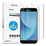 OMOTON [2 Pezzi] Compatibile con Samsung Galaxy J5 2017 Pellicola Protettiva in Vetro Temperato - Anti-Graffi - Durezza 9H - Nessuna Bolla - 99% di Trasparenza e Sensibilità