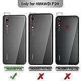 Huawei P20 Cover, iBetter Huawei P20 protettiva custodia, Funzione Stand, chiusa magnetica protettiva cover per Huawei P20 smartphone.Flip Series - Nero