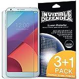 Pellicola Protettiva LG G6 / G6 Plus - Invisible Defender [3+1 Free/MAX HD CLEARNESS][Custodia Compatibile] Perfetto Tocco di Precisione Pellicola Trasparente ad Alta Definizione (HD)