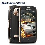 Blackview BV7000 Telefono Cellulare ip68 Smartphone Dual SIM 4G con 5.0 pollici FHD Display, 2GB RAM+16GB ROM e Fotocamera 8MP/5MP e Batteria 3500mAh, NFC/Fingerprint ID/GPS, Oro