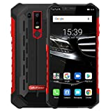 (2019) Ulefone Armor 6E - Android 9.0 Smartphone Rugged 4G,Helio P70 Octa-core Outdoor Cellulare 4 GB + 64 GB, 6,2' FHD + Schemo Notch, ricarica wireless supportata, impermeabile IP68, GPS/NFC Rosso