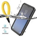 Samsung Galaxy S9 Custodia Impermeabile, CaseFirst Ultra-sottile Certificato Impermeabile IP68 Waterproof Cover Bumper Portacellulare Protettiva Copertura per Samsung Galaxy S9 (Nero)
