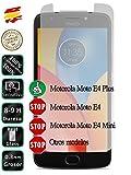Pellicola Proteggi Schermo Vetro Temperato Vetro per Motorola Moto E4Plus 4G 5.5–movilrey