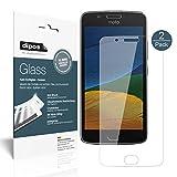Motorola Moto G5 Pellicola Protettiva - 2x dipos Glass Protezione Vetro Flessibile 9H