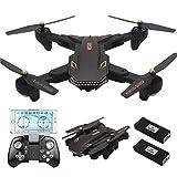 REDPAWZ Drone Con Telecamera VISO XS809S BATTLES SHARKS Pieghevole WIFI FPV HD 720P APP Mobile Controllo Grandangolare Selfie Drone Modalità di Attesa in Altitudine