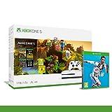Xbox One S 1TB Minecraft Creators Pack + 1M GamePass [Bundle] + FIFA 19