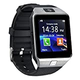Yuntab SW01 Smart Watch Bluetooth 3.0 or above Android/ iOS Phone/Pedometer Intelligent Watch and Sedentary Reminder (Sliver)