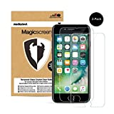 2 Pacchi Apple iPhone 8 Plus / 7 Plus Pellicola Protettiva in Vetro Temperato, MediaDevil Magicscreen Crystal Clear (Invisibile)