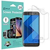 Pellicola Protettiva Galaxy S7 Edge, [Copertura Copertura], JETech SOFTOUGH 2-Pack TPE Screen Protector Film per Samsung Galaxy S7 Edge