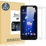 EasyULT [2-Pack] HTC U11 Pellicola Protettiva, 2 Pack Pellicola Protettiva in Vetro Temperato per HTCU11(Vetro con Durezza 9H, Spessore di 0,26 mm)