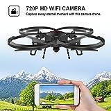 Sconosciuto DBPOWER U818A Versione FPV WIFI Drone Con Videocamera HD 720P Per Filmati dal Vivo, Quadricottero RC Con Funzione Headless - Facile Da Controllare Per I Principianti