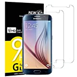 NEW'C Pacco da 2 Pezzi, Pellicola Protettiva in Vetro Temperato per Samsung Galaxy S6