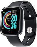 Smart Watch Bluetooth Y68, 1,3 Pollici Schermo IP68 pedometro Resistente all'Acqua Smartwatch Remote Control Camera di Controllo per iPhone Compatibile Samsung Android iOS Apple