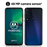 Motorola Moto G8 Plus, Display FHD 6,3', Sensore Fotocamera da 48 MP , Altoparlanti Stereo Dolby, 64 GB/4GB, Android 9.0, Dual SIM, Blue