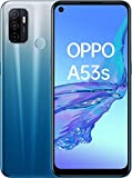 OPPO A53s Smartphone, 4 GB + 128 GB, Fancy Blue