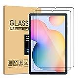 PULEN [2 Pack] Pellicola Protettiva per Samsung Galaxy Tab S6 Lite 10.4 Inch, in Vetro temperato di Alta qualità [Senza Bolle] [Anti-Impronte] HD Resistente ai Graffi