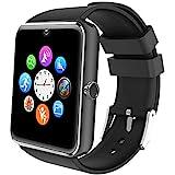 Willful Smartwatch Telefono con SIM SD Fotocamera Smart Watch Android Compatibile Rispondere Chiamate WhatsAPP Notifiche Ascoltare Musica Orologio Fitness Uomo per Contapassi Calories Distanza Sonno