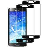DOSMUNG [2 Pezzi Vetro Temperato per Samsung Galaxy S7 Edge, Pellicola Protettiva Vetro per Samsung S7 Edge [9H Durezza] [3D Curvo Copertura Completa] [Anti-Graffi] Galaxy S7 Edge Tempered Film