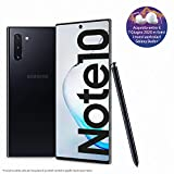 Samsung Galaxy Note10 Smartphone, Display 6.3' Dynamic AMOLED, 256 GB Espandibili, RAM 8 GB, Batteria 3.500 mAh, 4G, Dual SIM, Android 9 Pie, [Versione Italiana], Aura Black