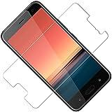 TOCYORIC 2 Pezzi HTC U11 Pellicola Protettiva Vetro Temperato, HTC U11 2018 Protezione Schermo Trasparente Ultra Resistente, 9H Durezza, Anti-Graffi, Anti-Impronte