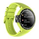 Ticwatch E Shadow Smartwatch con Display OLED da 1,4 Pollici, Android Wear 2.0, Orologio Sportivo Alta qualità Compatibile con Android e iOS Adatto per la Maggior Parte dei Tipi di Smartphone