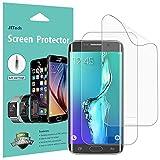 JETech Pellicola Protettiva Compatibile con Samsung Galaxy S6 Edge Plus, Pellicola Ultra HD TPE, Copertura Completa, Pacco da 2