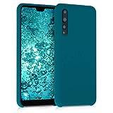 kwmobile Cover Compatibile con Huawei P20 PRO - Custodia in Silicone TPU - Back Case Protezione Cellulare Petrolio Matt