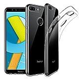 EasyAcc Custodia per Huawei Honor 9 Lite, Morbido TPU Cover Cristallo limpido Trasparente Slim Anti Scivolo Protezione Posteriore Case Antiurto E' Adatto per Huawei Honor 9 Lite