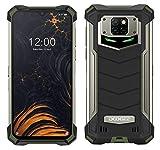 Smartphone Robusto DOOGEE S88 PRO 10000 mAh Batteria, Octa-core 6GB+128GB Android 10, Fotocamera Quadruple 21 MP, 6,3'FHD + Corning Gorilla Glass, Ricarica Wireless, Rugged Telefono IP68 NFC Verde