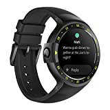 Ticwatch S Knight Smartwatch con Display OLED da 1,4 Pollici, Android Wear 2.0, Orologio Sportivo Alta qualità Compatibile con Android e iOS Adatto per la Maggior Parte dei Tipi di Smartphone