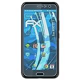 atFoliX Protezione Pellicola dello Schermo Compatibile con HTC U11 Pellicola Protettiva, Ultra-Trasparente FX Proteggi Schermo (3X)