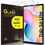 IVSO Pellicola Protettiva per Samsung Galaxy Tab S6 Lite, Pellicola Protettiva Schermo in Vetro Temperato per Samsung Galaxy Tab S6 Lite 10.4 Pollici 2020, 2 Pack