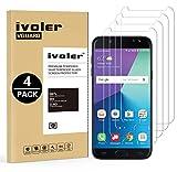 ivoler [4 Pack] Vetro Temperato Compatibile con Samsung Galaxy J7 2017 [Garanzia a Vita], Pellicola Protettiva, Protezione per Schermo