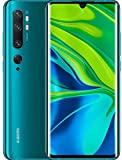 Xiaomi Mi Note 10 Smartphone, 6 GB RAM + 128 GB ROM, Schermo 3D Curved Amoled 6.47', Penta Camera 108 MP,  Selfie camera da 32 MP, 5260 mAh, Aurora Green