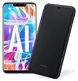 Huawei Mate 20 Lite più Flip Cover Nera originale, Telefono con 64 GB, Display 6.3' Full HD, Processore Octa Core con Intelligenza Artificiale, Batteria da 3750 mAh, Nero (Black)  [Versione Italiana]