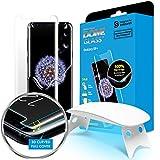 Dome Glass Vetro Temperato Galaxy S9+, custodia compatible, Samsung S9 Plus