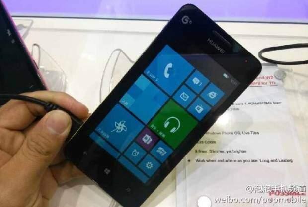 Huawei Ascend W2: caratteristiche tecniche svelate al MAE 2013