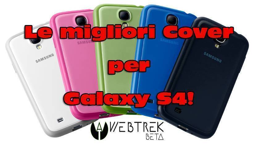 Flip Cover S View protezione integrale per Samsung Galaxy S4 Mini