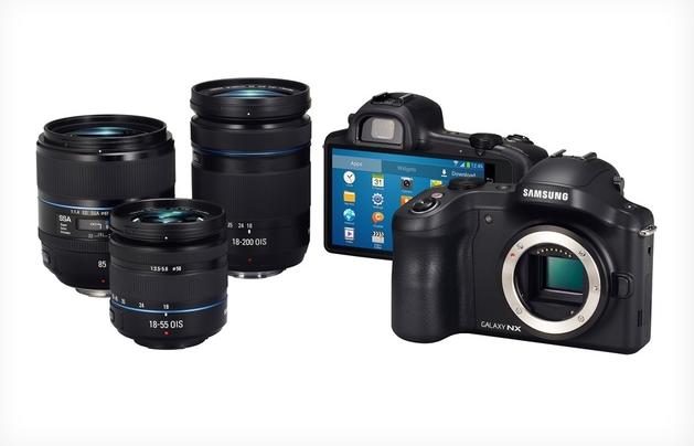 Samsung annuncia Galaxy NX Camera con sensore da 20,3 Megapixel
