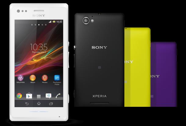 Sony Xperia M ufficiale: caratteristiche tecniche e comunicato stampa