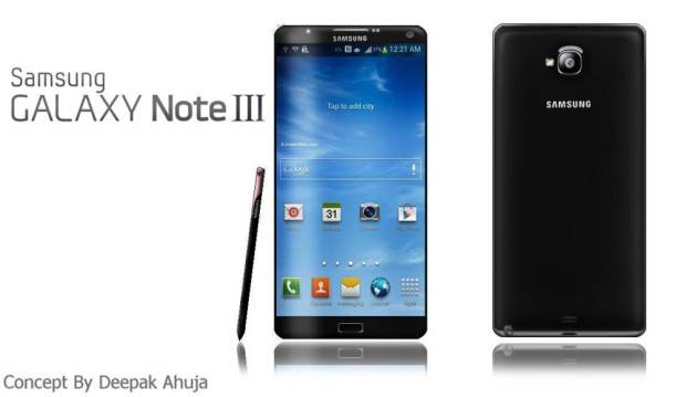 Galaxy Note 3 confermato dall'UAProf Samsung