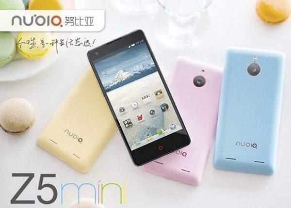 ZTE Nubia Z5 Mini, smartphone con fotocamera da 13MP a 234 euro!